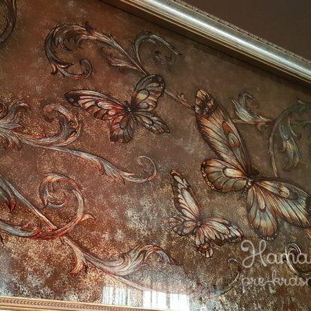 Стеклянное декоративное панно «Классика» г. Москва