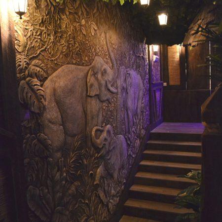 DSC 1749 450x450 - Декоративное панно «Слоны»