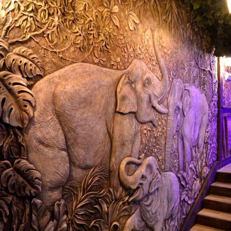 DSC 1783 450x450 - Декоративное панно «Слоны»