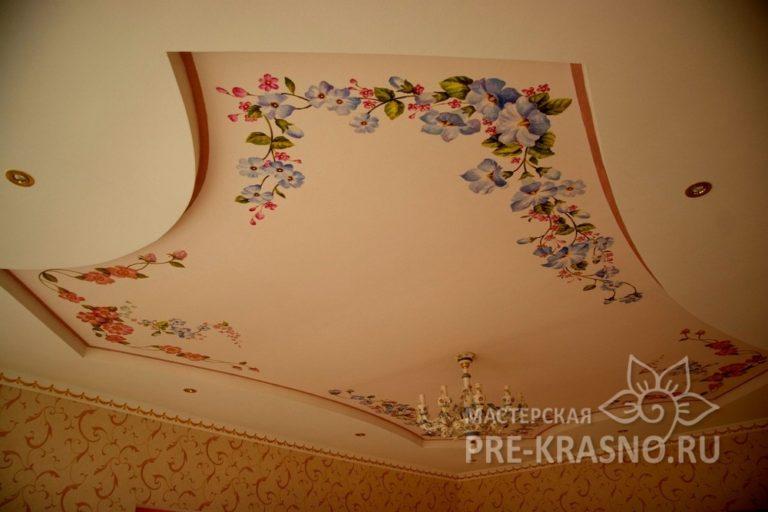Роспись потолка - Юлия Чистякова