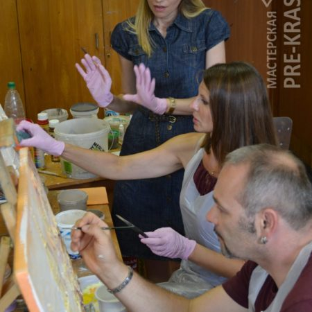 Bas-relief workshop Moscow