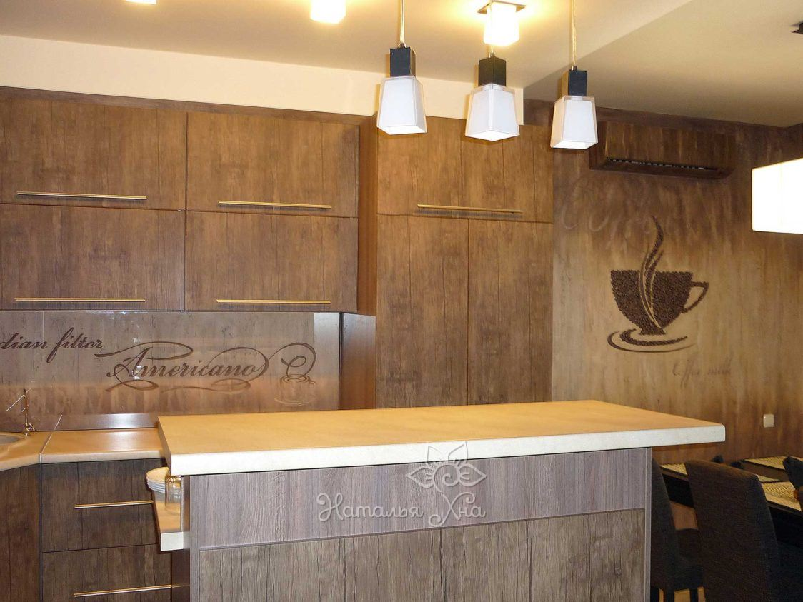 Кухня в стиле Кофе