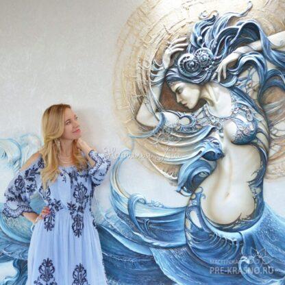 Барельеф Русалка / Mermaid bas relief