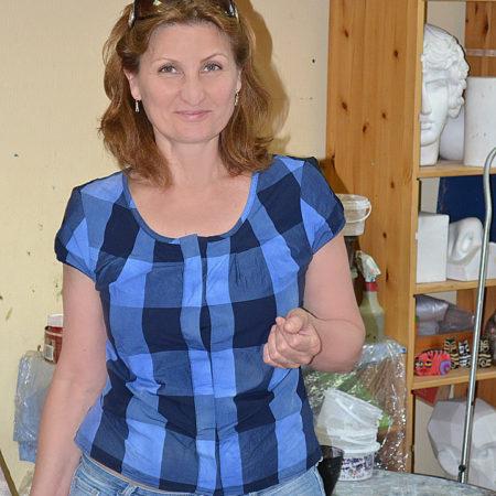 Галина на мастер-классе