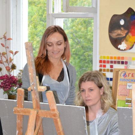 Светлана Кириченко и Лариса Ковалева на мастер-классе