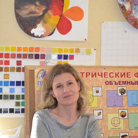 Светлана Кириченко на мастер-классе