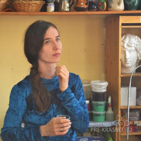 Анастасия Зорина на мастер-классе