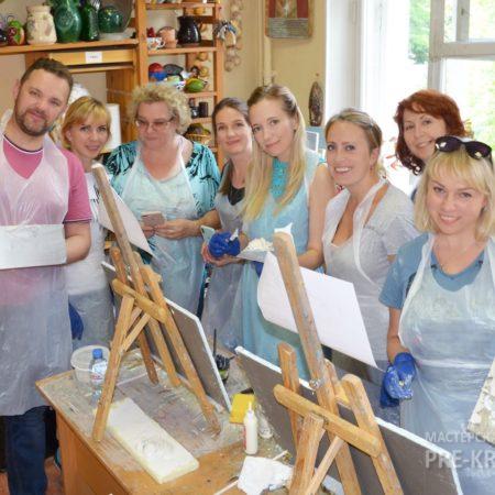 Мастер-класс Наталья Хна Барельеф 28-06-19