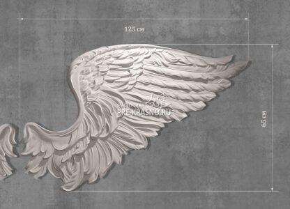 Крыло ангела гипсовое купить