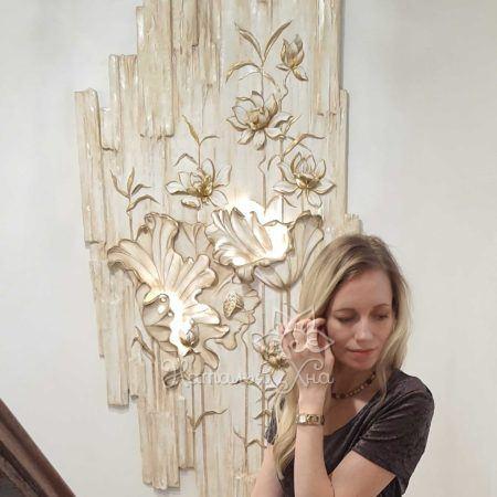 vodyanaya liliya barelef panno s podsvetkoj01 450x450 - Наталья Хна