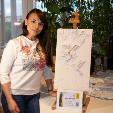 Мастер класс по барельефу для очаровательной Карины Маслей