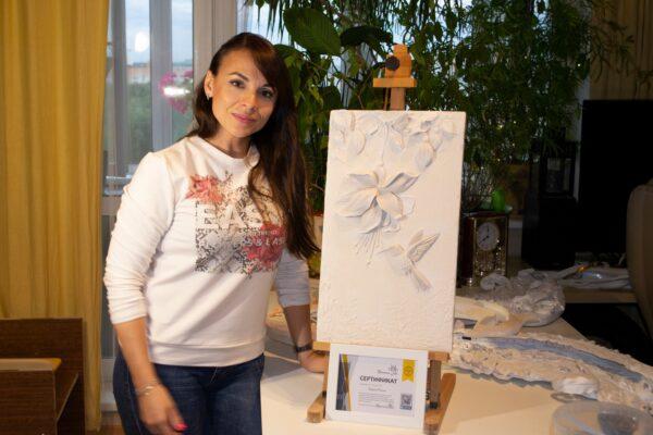master klass po barelefu 06 600x400 - Мастер класс по барельефу для очаровательной Карины Маслей
