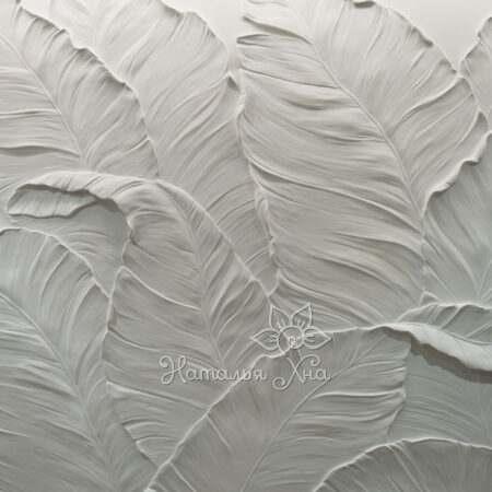 барельеф-листья-нананов-настенный-декор-на-стене4