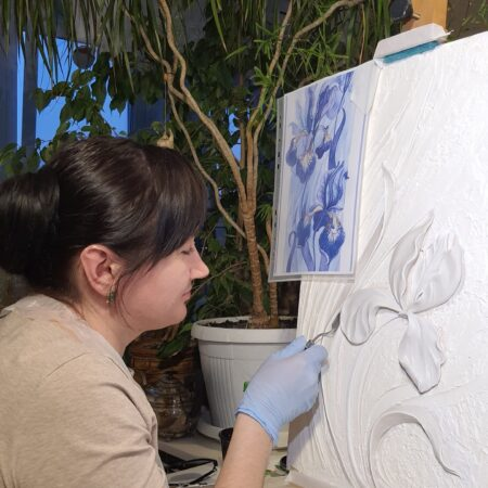 masterklass barelef iris czvetok2 450x450 - Кристина Соловова