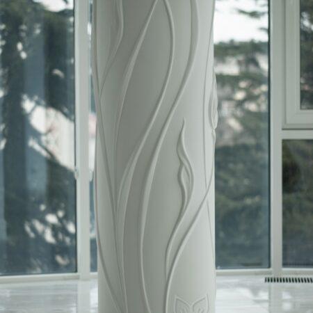 oformlenie dekor kolonn barelefom krym 12 450x450 - Оформление колонн барельефом в Крыму