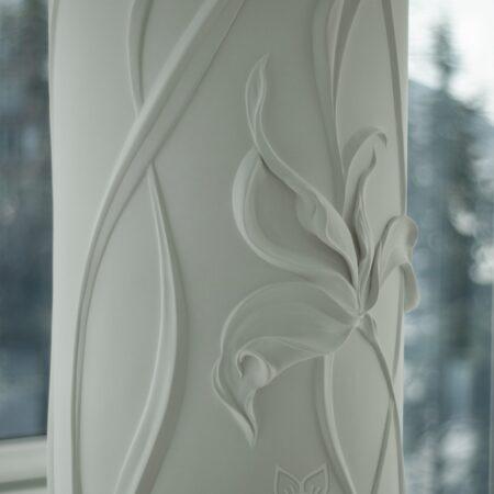 oformlenie dekor kolonn barelefom krym 18 450x450 - Оформление колонн барельефом в Крыму