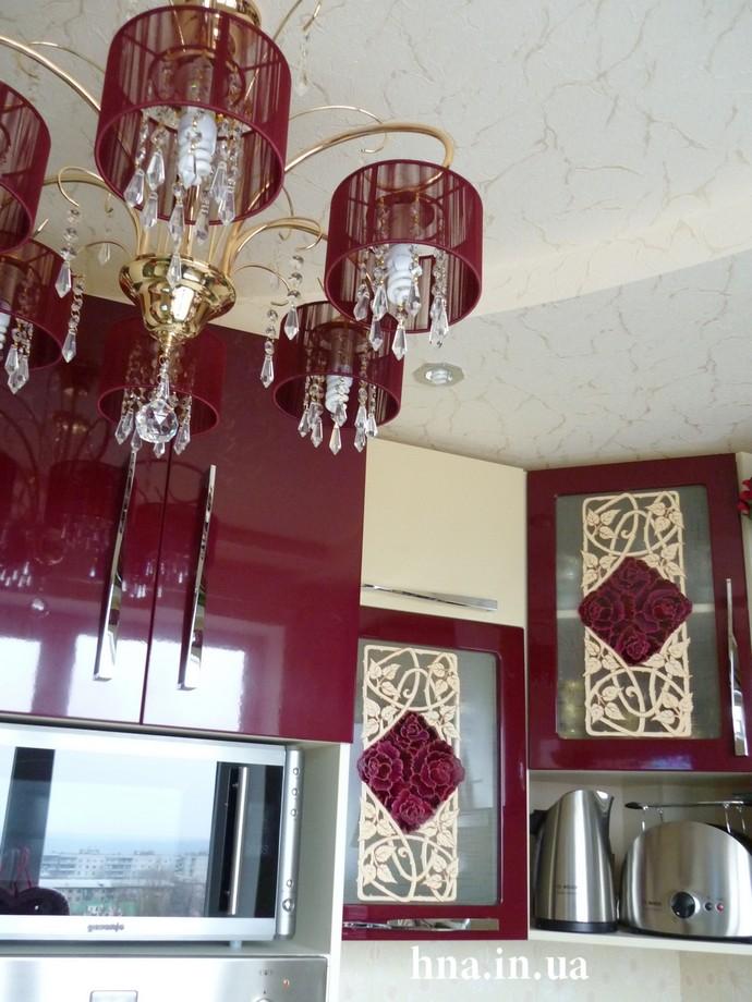 Роспись стен в квартире / кухня
